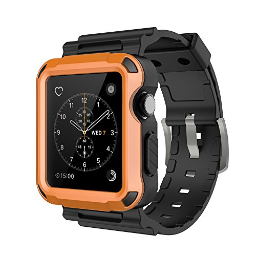 Simpeak Orange Rugged Protective Black