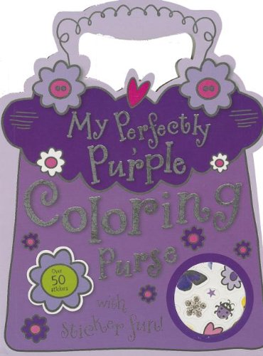 Mini My Perfectly Purple Coloring (Coloring Purse)