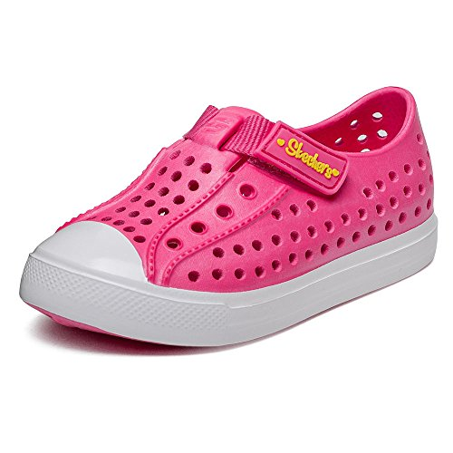 Skechers Infant/Toddler Girls' Twist Ups Pitter Patter,Pink,US 10 M Skechers Girls Cali Gear