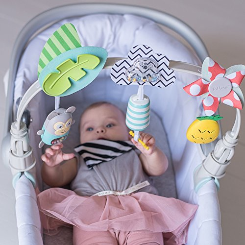 Taf Toys 'Tropical Orchestra Arch' | Ideal for Infant & Toddlers, Fits Stroller & Pram, Activity Arch with Fascinating Toys, Stimulates Baby's Senses and Motor Skills Development, Easier Outdoors by Taf Toys (Image #2)