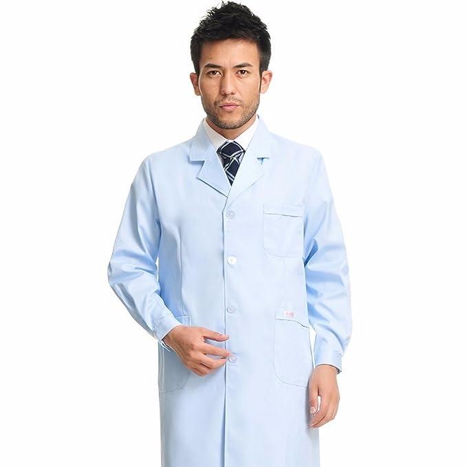 Xuanku El Médico Y Una Bata Blanca De Manga Larga Cintura Ropa De Invierno Vestidos Monos Doctor Farmacia: Amazon.es: Ropa y accesorios
