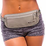 Expert Travel Money Belt - $500 Theft Protection, RFID Blocking, and 2x Credit Card Sleeves