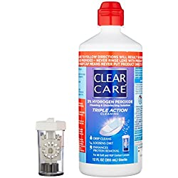 CLEAR CARE® Cleaning & Disinfection Solution with Lens Case, 12-Ounces