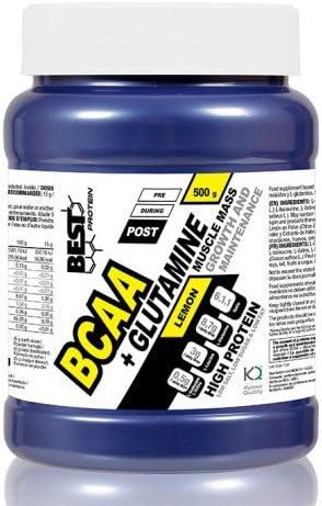 Best Protein BCAA + Glutamina 6.1.1. 500 gr - Naranja