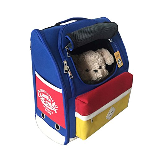 Mangostyle Comfortable Dog Cat Pet Carrier Backpack Trave...