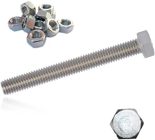 5 hexagonal vis DIN 933 Acier Inoxydable a2 M 10x100