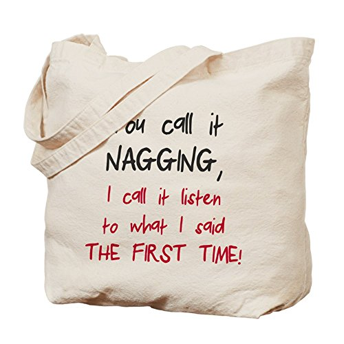 CafePress – You Call It nagging – Gamuza de bolsa de lona bolsa, bolsa de la compra