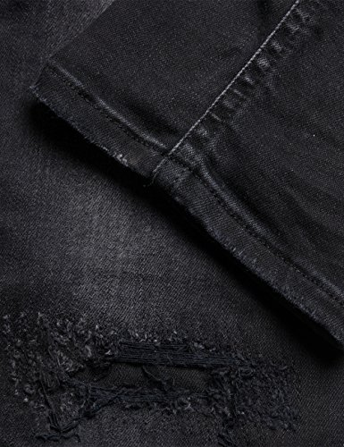 Replay Femme Denim Jean Black Katewin 98 Slim Noir Hyperflex fwnqWfrx4