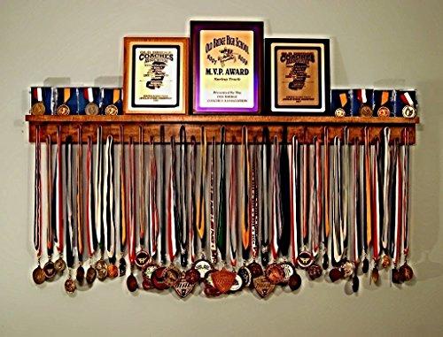 4ft Award Medal Display Rack and Trophy Shelf