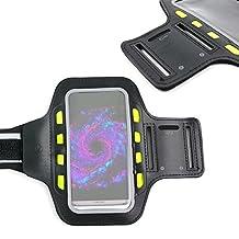 """Brassard de sport avec LED pour Samsung Galaxy S8 Smartphone écran 5,8"""" – néoprène résistant à l'humidité – sangle velcro réglable"""