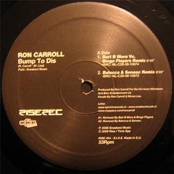 Bump To Dis: Ron Carroll: Amazon.es: Música