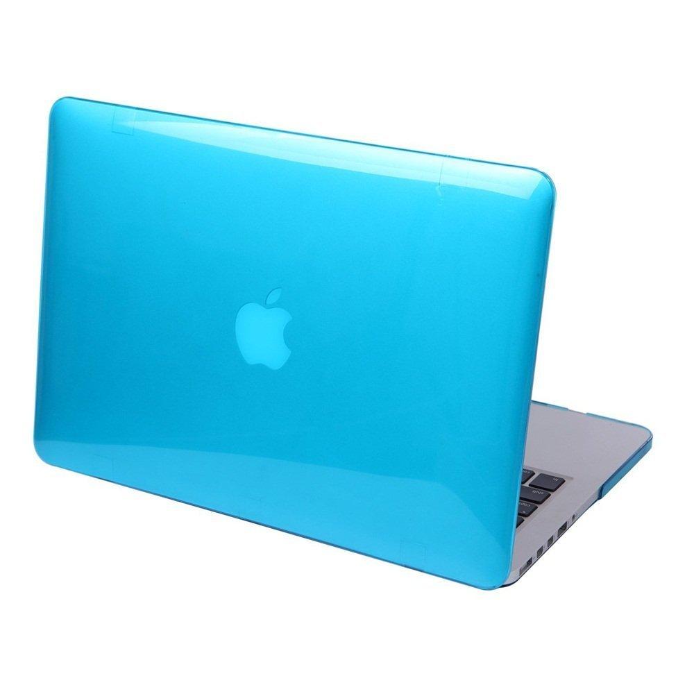 DETUOSI MacBook Air 13.3 Case, Modelo:A1466 // A1369 Hard Crystal Case para Apple MacBook Air 13.3 Funda Carcasa de Protector-Rojo Glossy Design