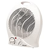 Wellco H005 2KW Upright Fan Heater 2 Kw 2 Heat settings Cool function - ideal for summer use Adjustable thermostat Overheat protection - White