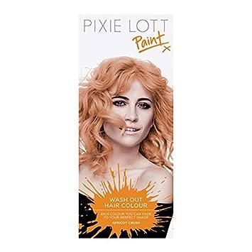 pixie lott paint wash out hair colour apricot crush amazon co uk