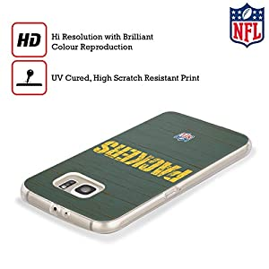 Official NFL Distressed Green Bay Packers Logo Soft Gel Case for Samsung Galaxy S8+ / S8 Plus