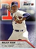 2016 Topps Bunt #117 Nolan Ryan Texas Rangers Baseball Card-MINT