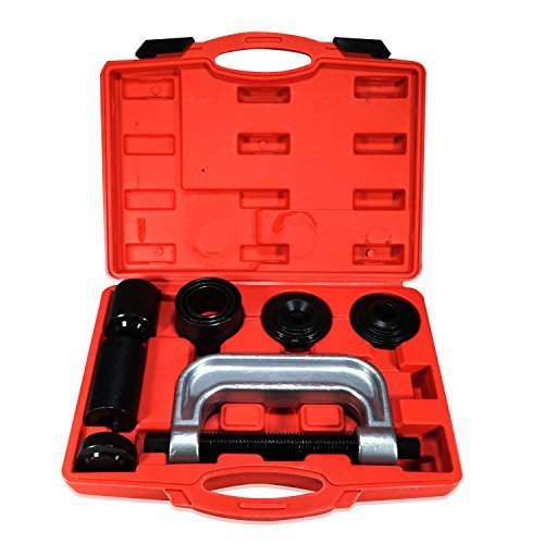 Genssi Ball Joint Deluxe Service Kit Tool Set 2wd & 4wd Vehicles Remover Install (Not fit all Cars) (4-in-1)