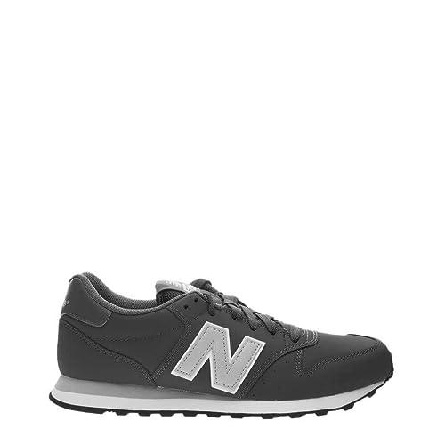 new balance 500 uomo grigio