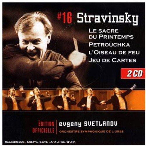 Stravinsky: Le Sacre Du Printemps / Petrouchka / L'Oiseau De Feu / Jeu De Cartes