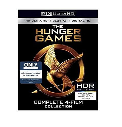 The Hunger Games Collection (4K Ultra HD + Blu Ray + Digital HD) by Lionsgate