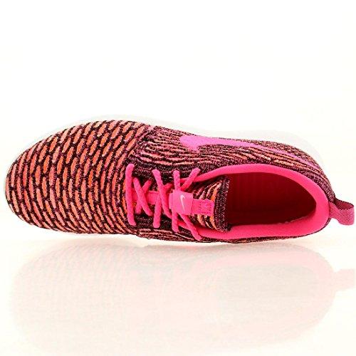 White Zapatillas NikeRoshe Running Pow Flyknit Orange de Mujer Black Total Pink A8w4AqPZ