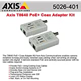 AXIS Communications T8640 Ethernet Over Coax Adapter PoE+