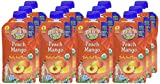 Earths Best Organic Stage 2, Peach & Mango, 4 Ounce Pouch (Pack of 12) (Packaging May Vary)
