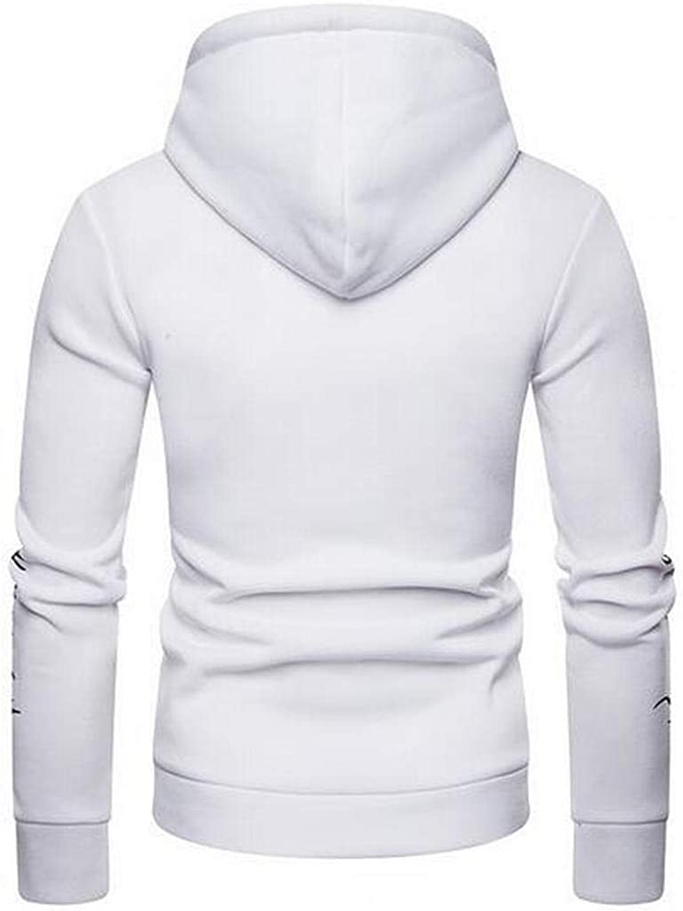 XiaoTianXinMen XTX Mens Hooded Plus Size 3D Print Pullover Hooded Sweatshirt with Pocket