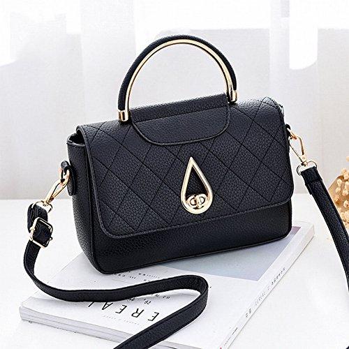 Umhängetasche Quadratische Weibliche Allgleiches Handtasche Beiläufige schwarz Kleine Handtasche ZfwfzqT