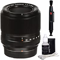 Fujifilm 60mm f/2.4 XF Macro Lens + Lens Cleaning Pen Bundle 3