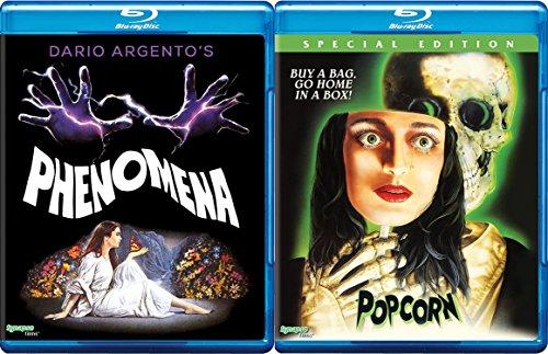 Popcorn Special Edition Blu Ray & Phenomena Dario Argento's Double Feature Cult Classics