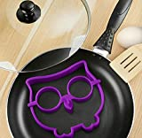 Silicone Owl Animal Fried Egg Mold Pancake Egg Ring Shaper Funny Creative Kitchen Tool