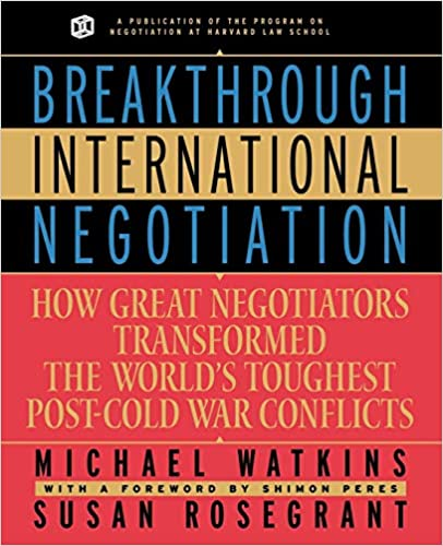 Amazon com: Breakthrough International Negotiation