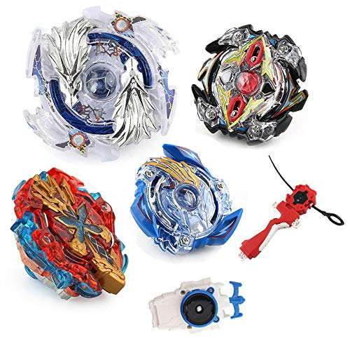 Cheap Bey Battle Gyro Burst Battle Evolution Metal Fusion Attack Set with 4D Launcher Grip Battle Set attack beyblade