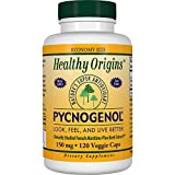 Healthy Origins Pycnogenol (Nature's Super Antioxidant) 150 mg, 120 Veggie Caps