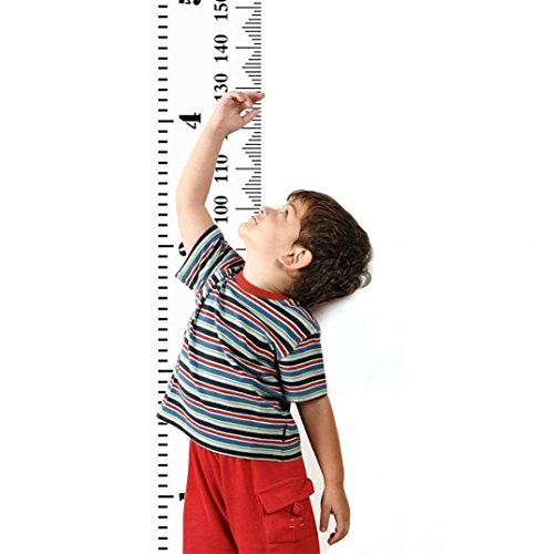 Growth Chart Rug (LiPing Baby Height Growth Chart Wall Paper Wall Stickers-Removable Decal Art Home Decor Painting Supplies Room Decor Kit-Kids Bedroom Decoration (A))