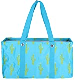 Wireframe All Purpose Large Utility Bag (Blue Cactus)