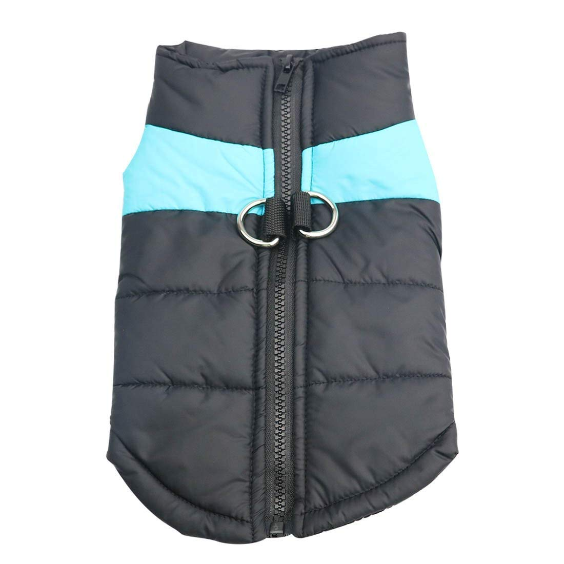 bluee 3XL bluee 3XL LLYU Pet Autumn and Winter Dog Clothes, Warm and Windproof Dog Cotton Clothes, ski Suit Big Dog Clothes (color   bluee, Size   3XL)