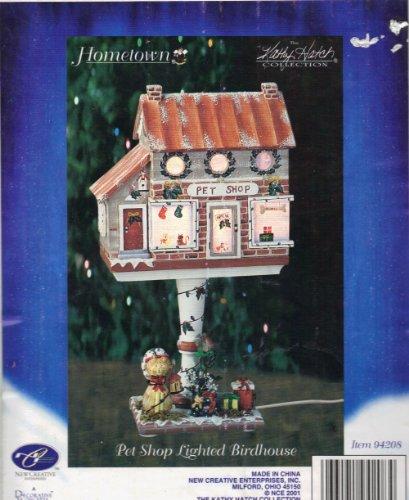Hometown Kathy Hatch Pet Shop Lighted Birdhouse