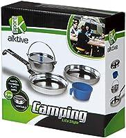 Aktive Set de Cocina para Camping Sport