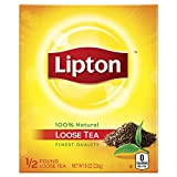 Lipton Loose Black Tea, 8 oz