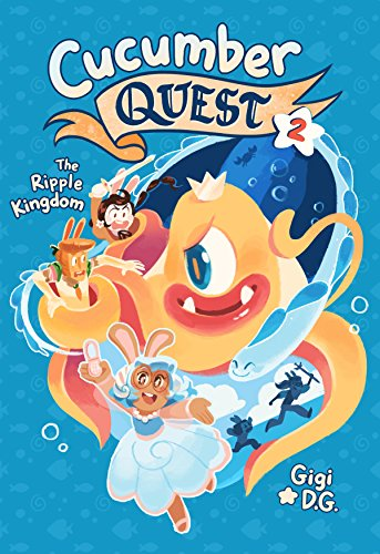 Book Cover: Cucumber Quest: The Ripple Kingdom