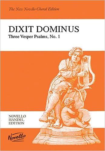 G.F. Handel: Dixit Dominus Vocal Score Novello Handel Editons: Amazon.es: Shaw, Watkins, Handel, Georg Friedrich: Libros en idiomas extranjeros