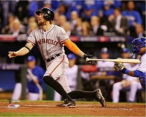 "Hunter Pence San Francisco Giants 2014 World Series Game 1 Home Run Photo (Size: 8"" x 10"")"