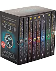 The Witcher Boxed Set: The Last Wish, Sword of Destiny, Blood of Elves, Time of Contempt, Baptism of Fire, The Tower of The Swallow, The Lady of the Lake, Season of Storms