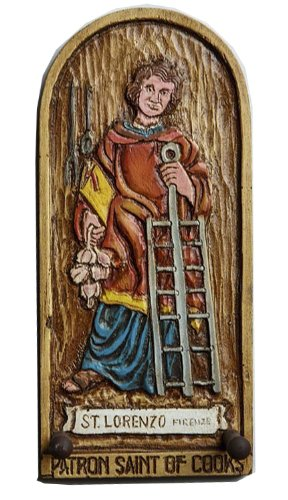 Patron Saint of Cooking Wall Decor Plaque