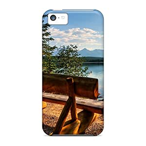 Quality AbbyRoseBabiak Cases Covers With Lake Bench Nice Appearance Compatible With Iphone 5c