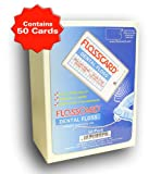FLOSSCARD (Box of 50 Cards) 12 Yards of Dental