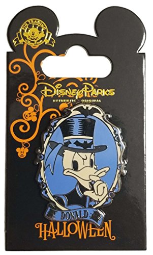 (WDW Trading Pin - Happy Halloween Donald Duck)