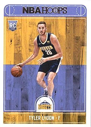 outlet store 7ea96 38c81 Amazon.com: 2017-18 NBA Hoops #274 Tyler Lydon Denver ...
